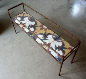 Coffee Table with Four Tiles, Beirut 1880 Source: [beyt] by 2b design