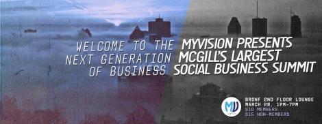 myVisionMcGill-SocialBusinessSummit